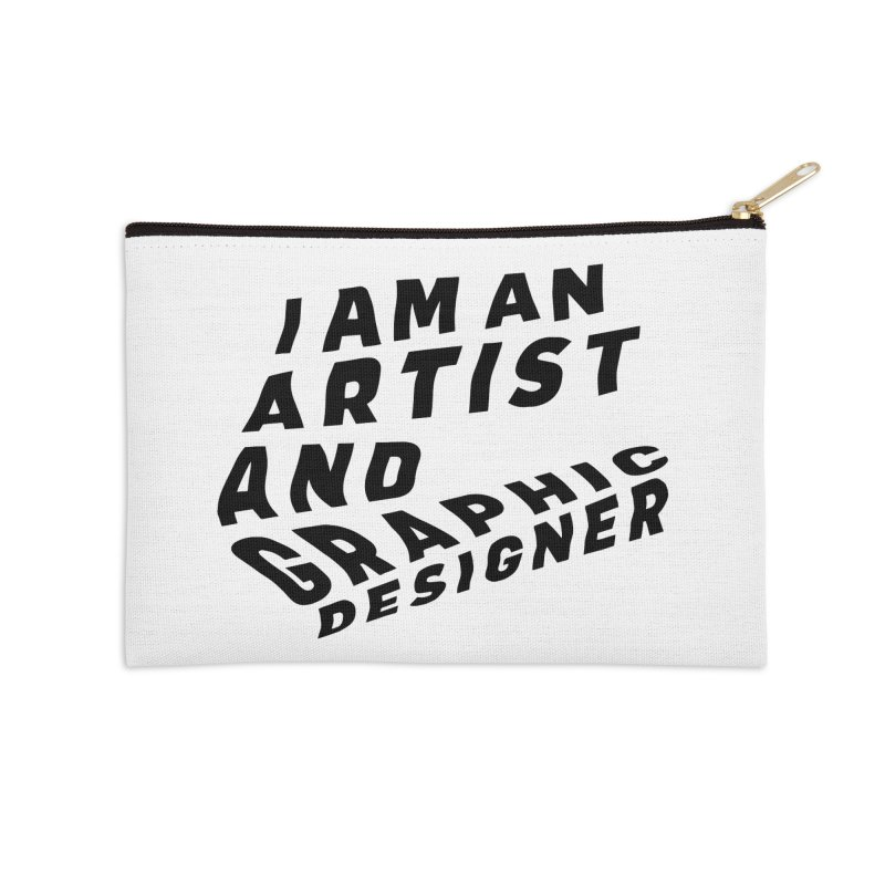 Who I am  Accessories Zip Pouch by Beers All Round