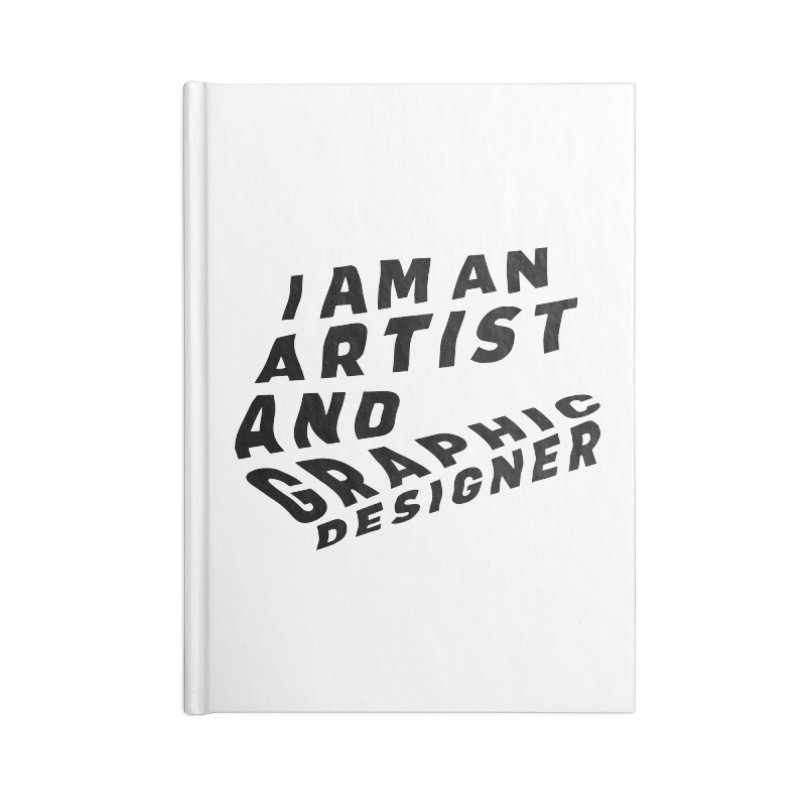 Who I am  Accessories Lined Journal Notebook by Beers All Round