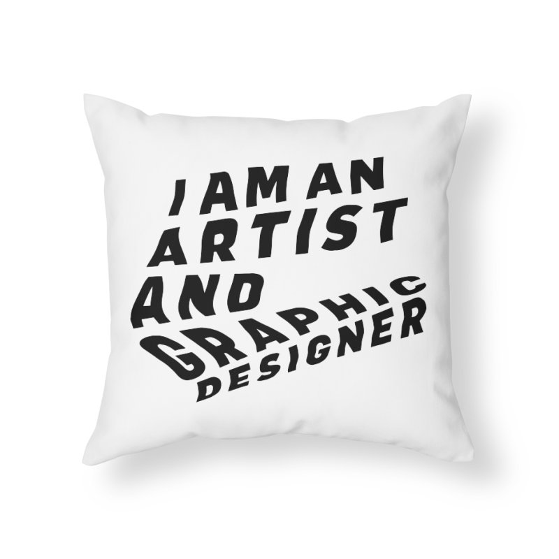 Who I am  Home Throw Pillow by Beers All Round