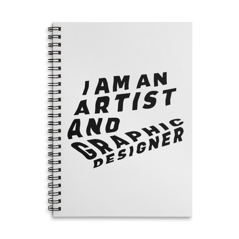 Who I am  Accessories Lined Spiral Notebook by Beers All Round