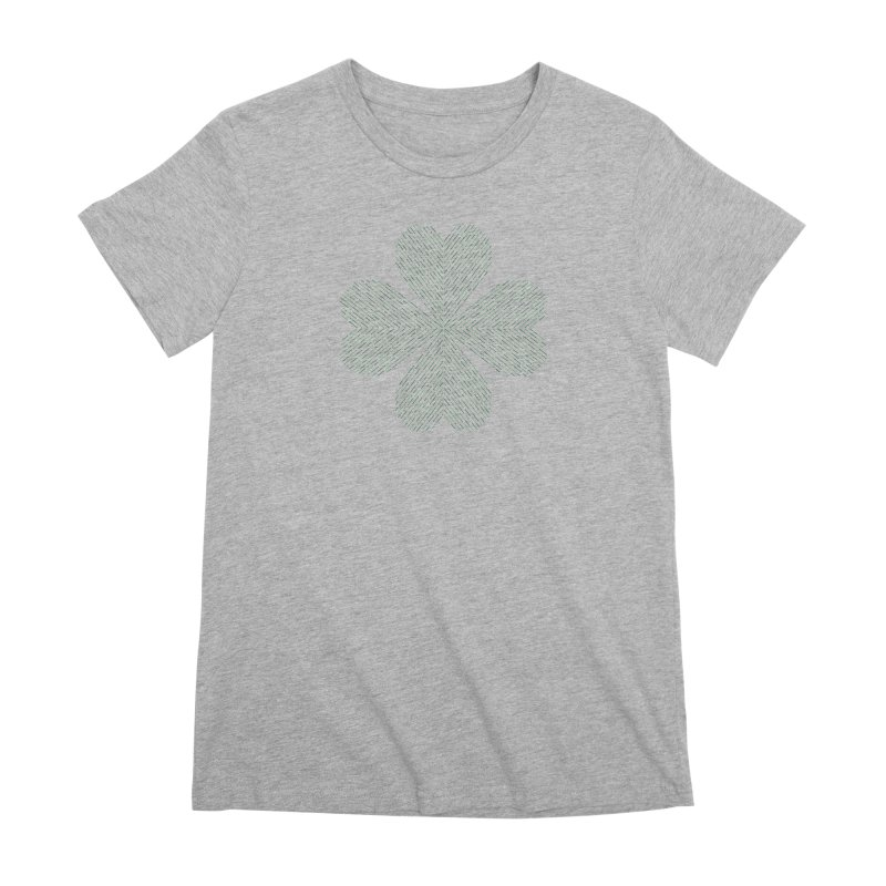 Luck of the Irish Women's Premium T-Shirt by Beers All Round