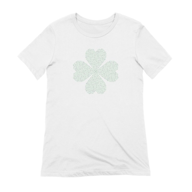 Luck of the Irish Women's Extra Soft T-Shirt by Beers All Round