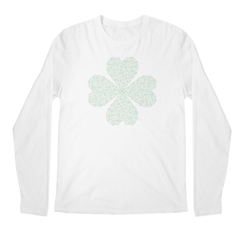 Luck of the Irish Men's Longsleeve T-Shirt by Beers All Round