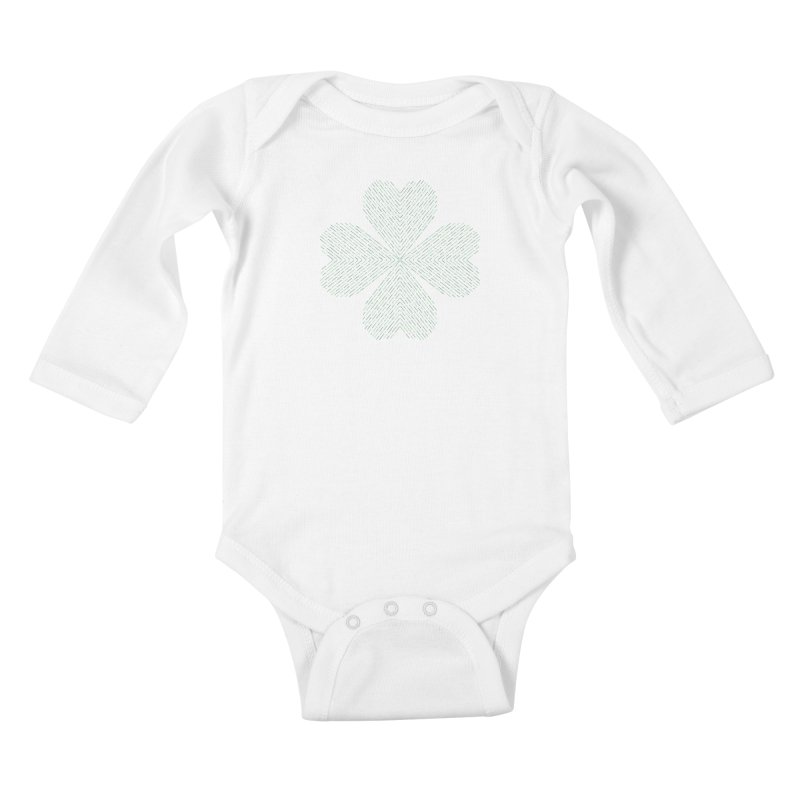 Luck of the Irish Kids Baby Longsleeve Bodysuit by Beers All Round