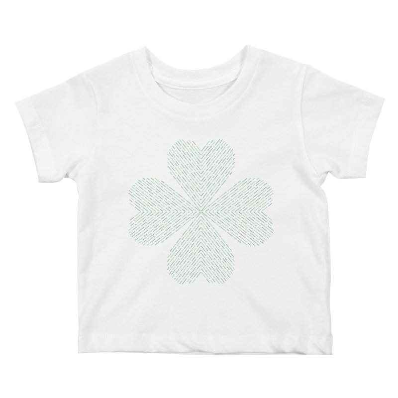Luck of the Irish Kids Baby T-Shirt by Beers All Round