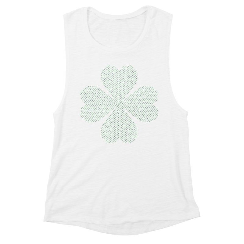 Luck of the Irish Women's Muscle Tank by Beers All Round