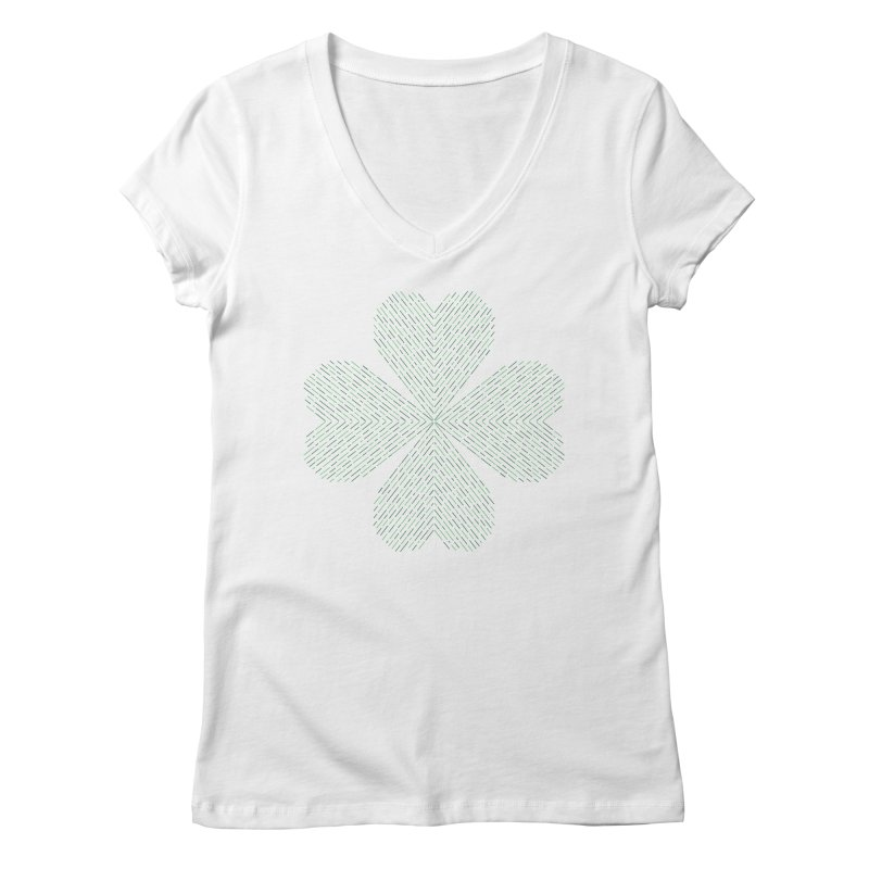 Luck of the Irish Women's V-Neck by Beers All Round