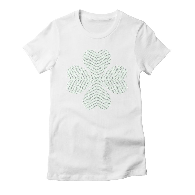 Luck of the Irish Women's Fitted T-Shirt by Beers All Round