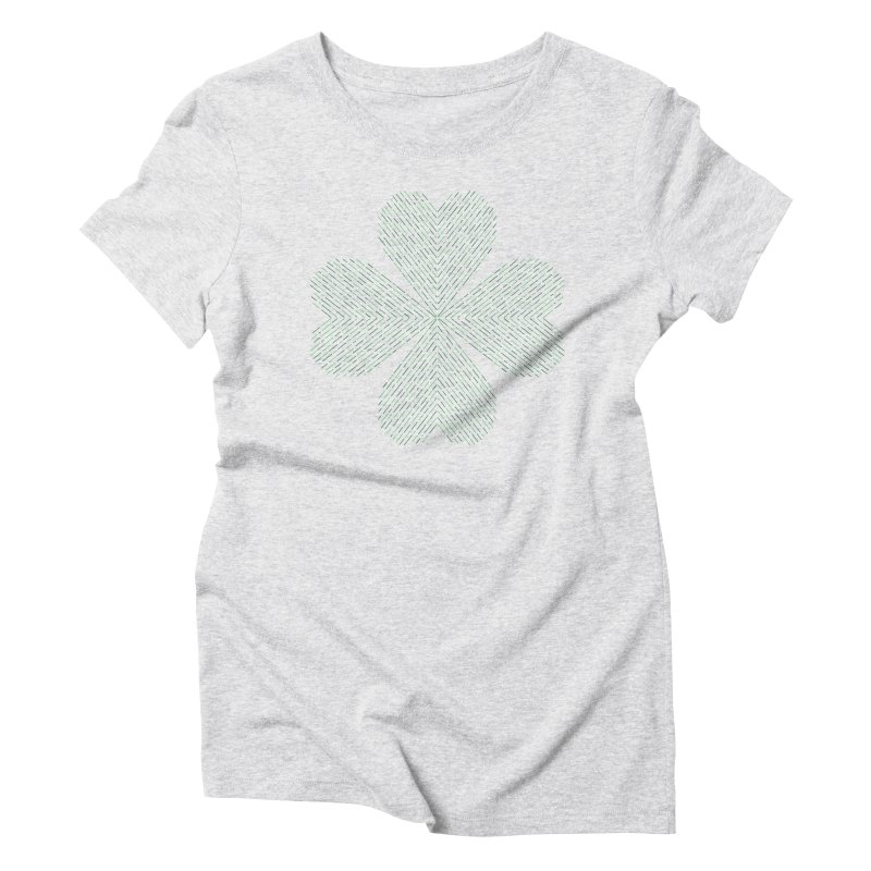 Luck of the Irish Women's Triblend T-Shirt by Beers All Round