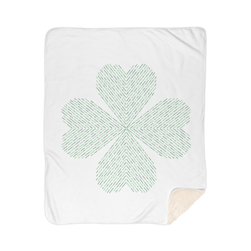 Luck of the Irish Home Sherpa Blanket Blanket by Beers All Round