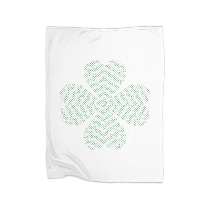 Luck of the Irish Home Fleece Blanket Blanket by Beers All Round