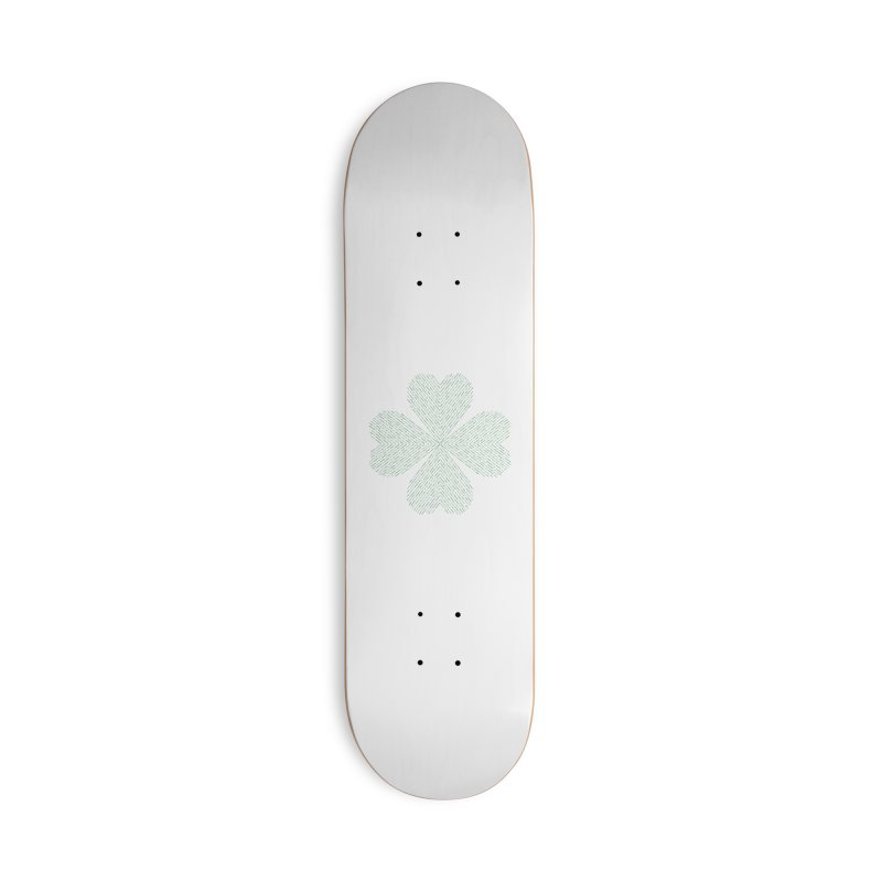 Luck of the Irish Accessories Deck Only Skateboard by Beers All Round