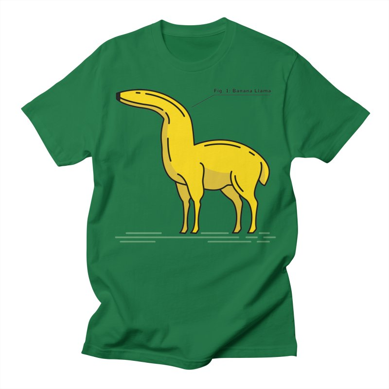 Banana Llama Men's T-Shirt by Beers All Round
