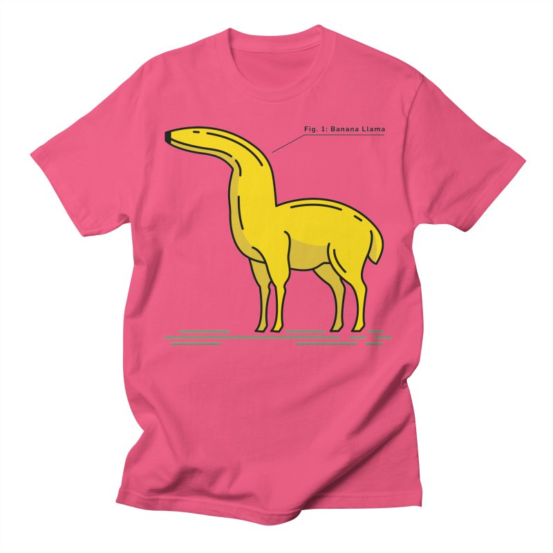 Banana Llama Men's T-Shirt by Beers All Round