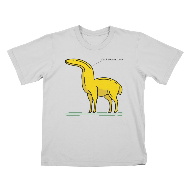 Banana Llama Kids T-Shirt by Beers All Round