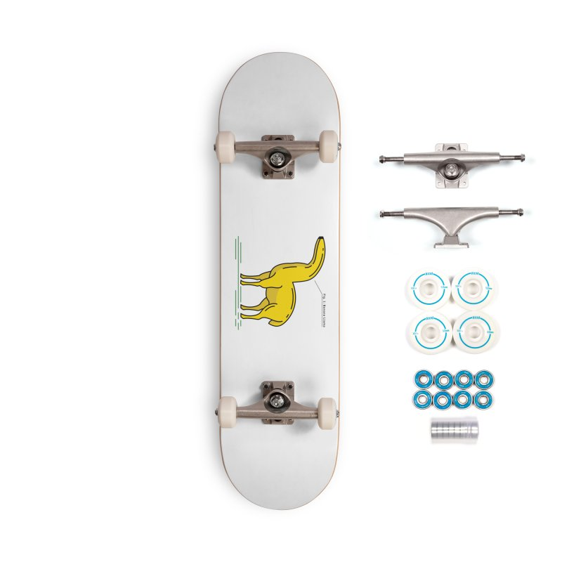 Banana Llama Accessories Complete - Basic Skateboard by Beers All Round