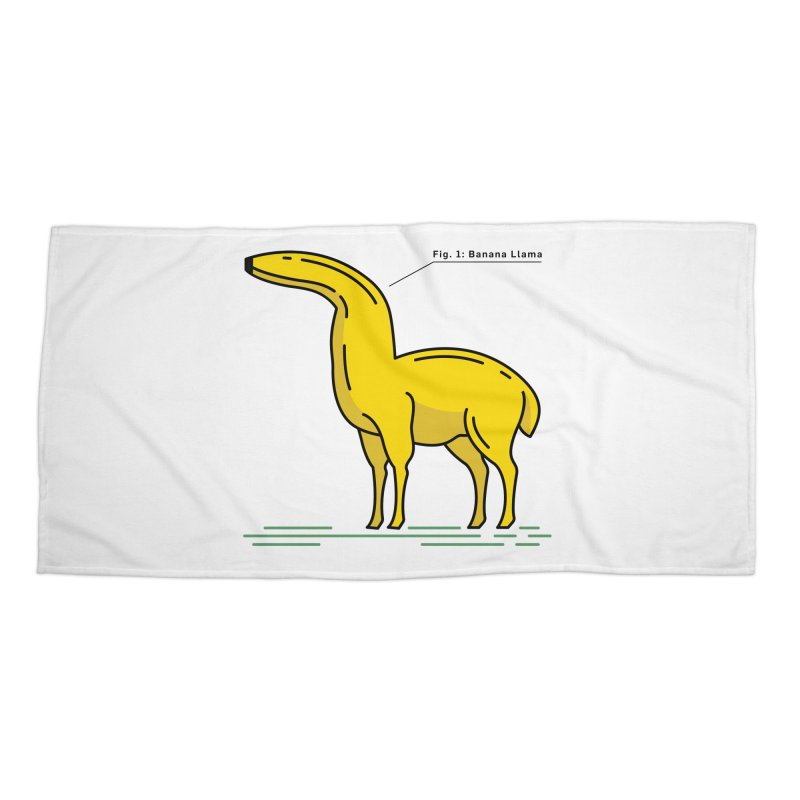 Banana Llama Accessories Beach Towel by Beers All Round