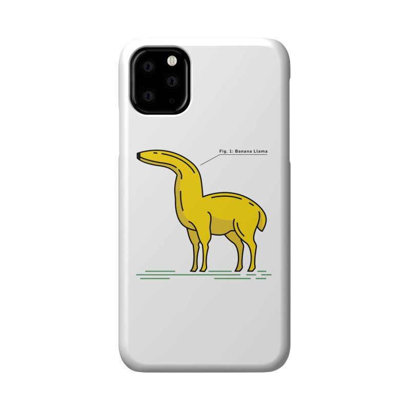 Banana Llama Accessories Phone Case by Beers All Round