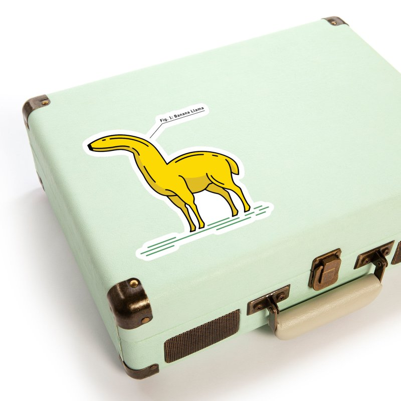 Banana Llama Accessories Sticker by Beers All Round