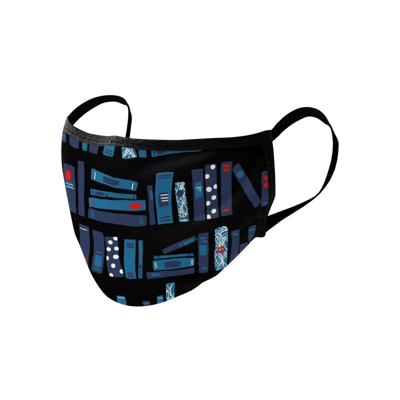 Books Accessories Face Mask by BeesAnts's Artist Shop