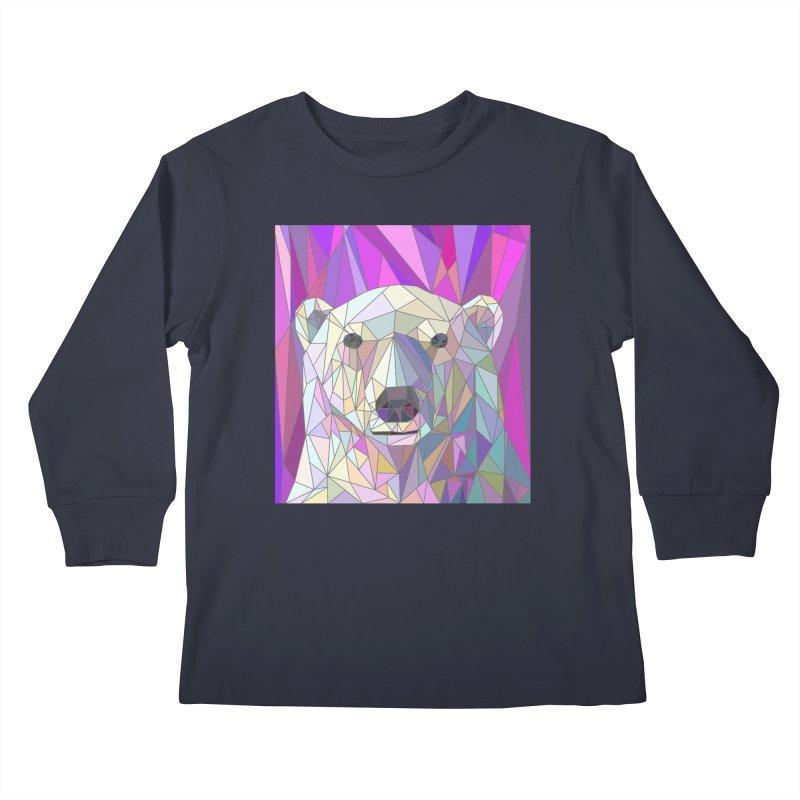 Polar Bear Kids Longsleeve T-Shirt by BeesAnts's Artist Shop