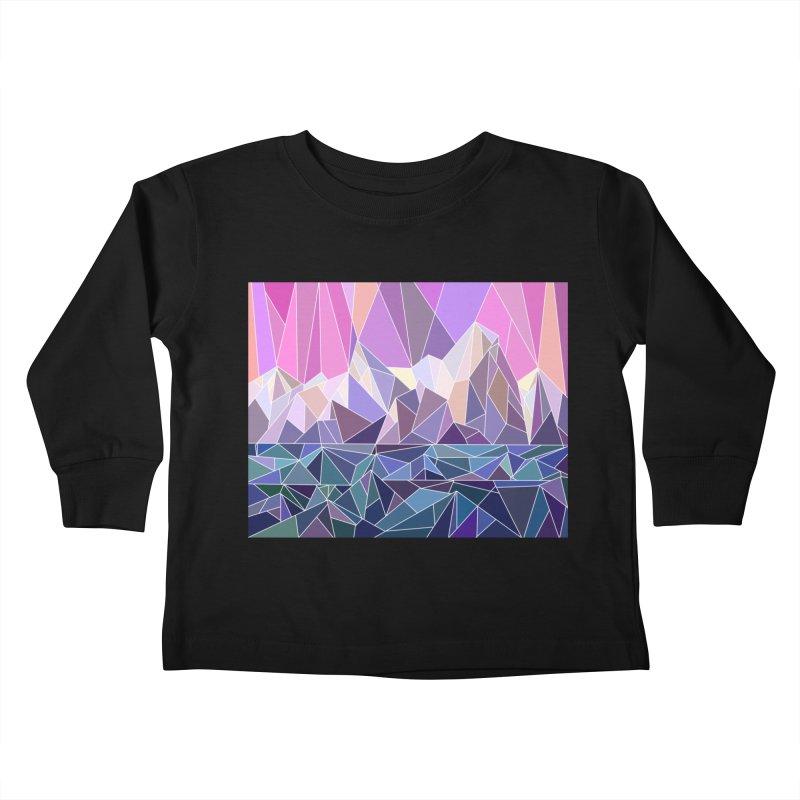 Mountains Kids Toddler Longsleeve T-Shirt by BeesAnts's Artist Shop