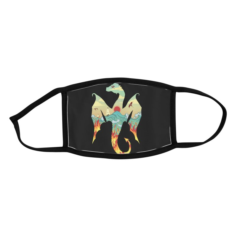 Dragons Accessories Face Mask by BeesAnts's Artist Shop