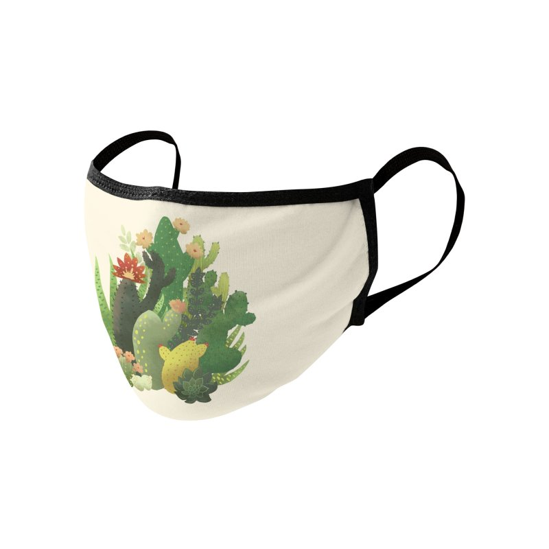 Cacti Accessories Face Mask by BeesAnts's Artist Shop
