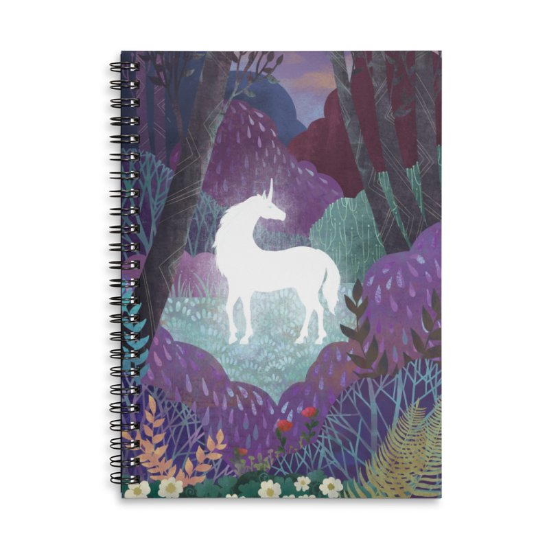 The Last Unicorn Accessories Notebook by BeesAnts's Artist Shop