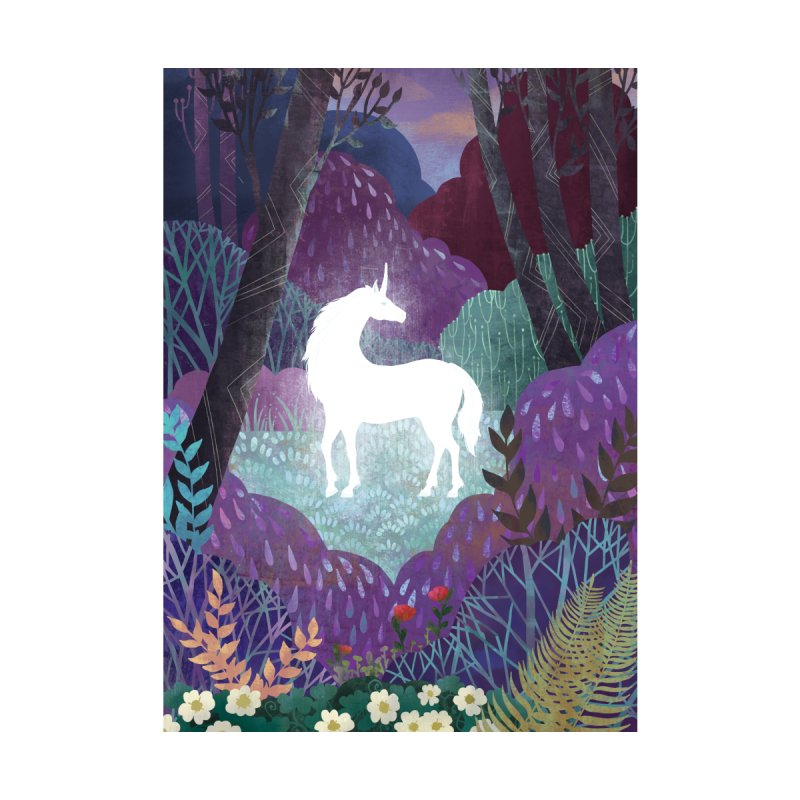The Last Unicorn Home Shower Curtain by BeesAnts's Artist Shop