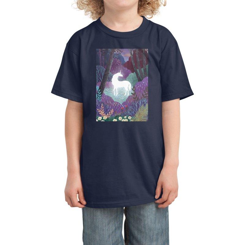 The Last Unicorn Kids T-Shirt by BeesAnts's Artist Shop