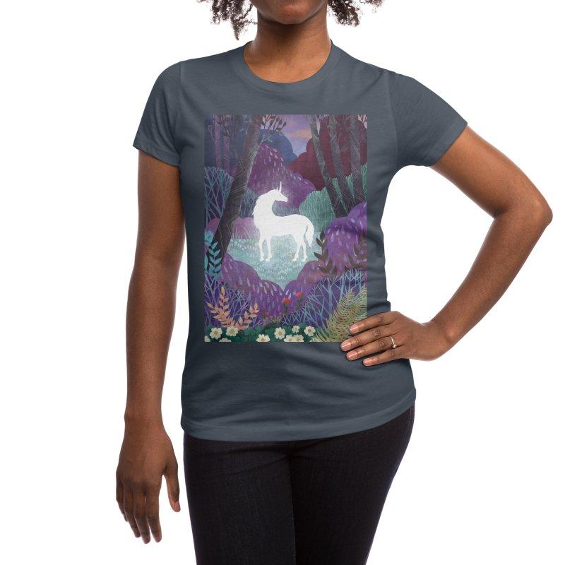 The Last Unicorn Women's T-Shirt by BeesAnts's Artist Shop
