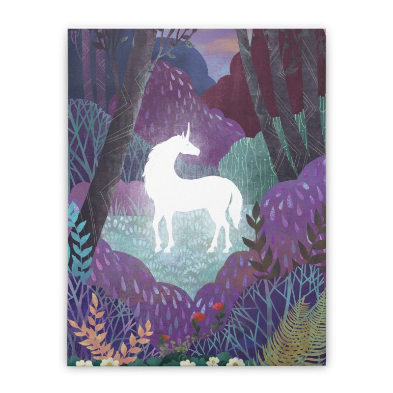 The Last Unicorn Home Stretched Canvas by BeesAnts's Artist Shop
