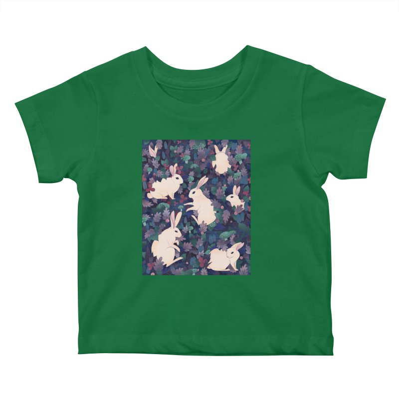 Rabbits Kids Baby T-Shirt by BeesAnts's Artist Shop