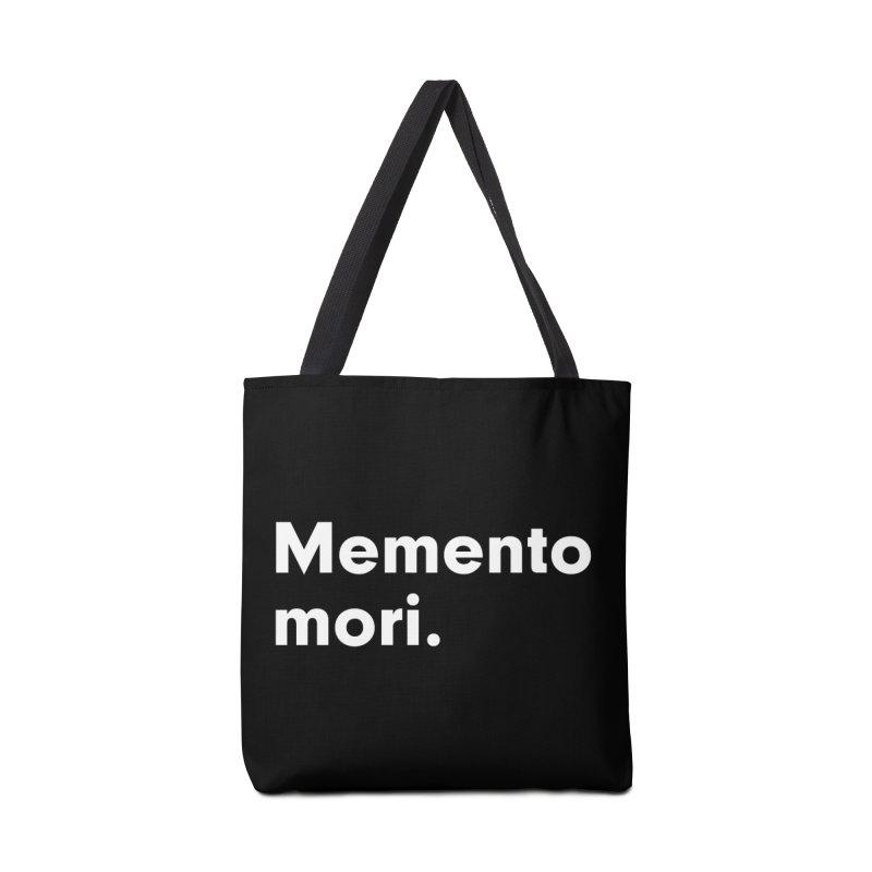 Memento Mori in Tote Bag by Before I Die