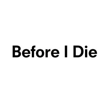 Before I Die Logo