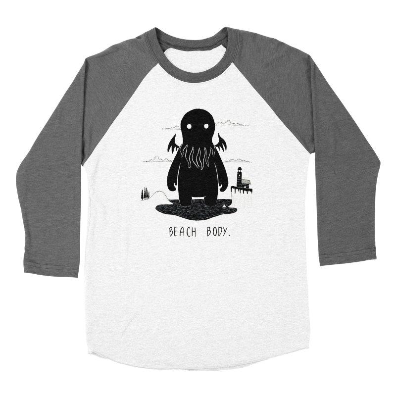 Beach Body Women's Longsleeve T-Shirt by Behemot's doodles
