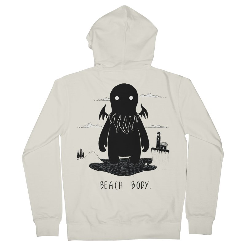 Beach Body Women's Zip-Up Hoody by Behemot's doodles