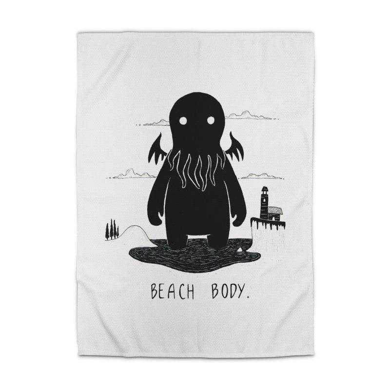 Beach Body Home Rug by Behemot's doodles