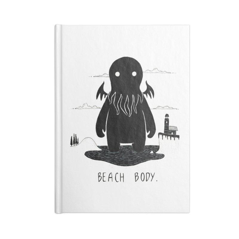 Beach Body Accessories Notebook by Behemot's doodles