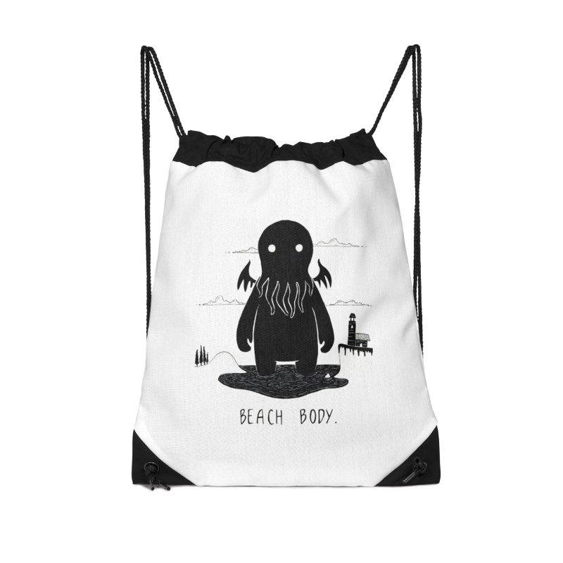 Beach Body Accessories Bag by Behemot's doodles