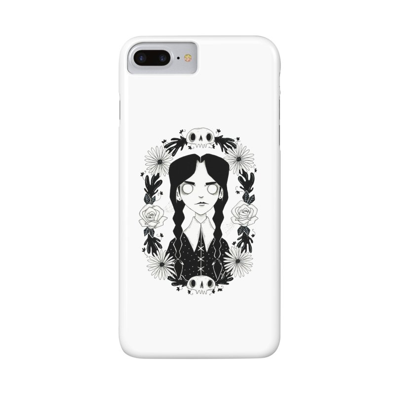 Wednesday Accessories Phone Case by Behemot's doodles
