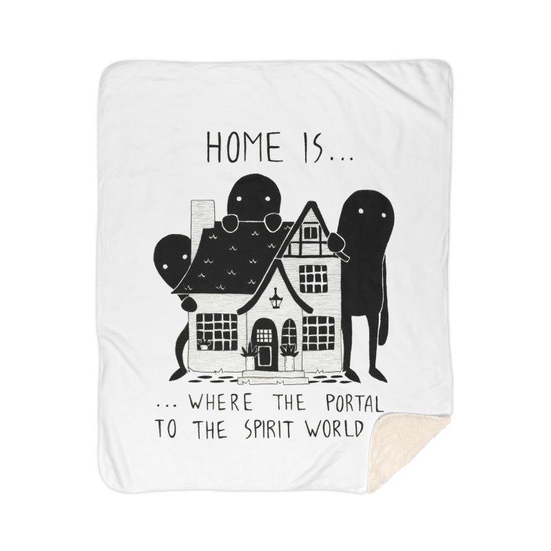 Home Home Blanket by Behemot's doodles