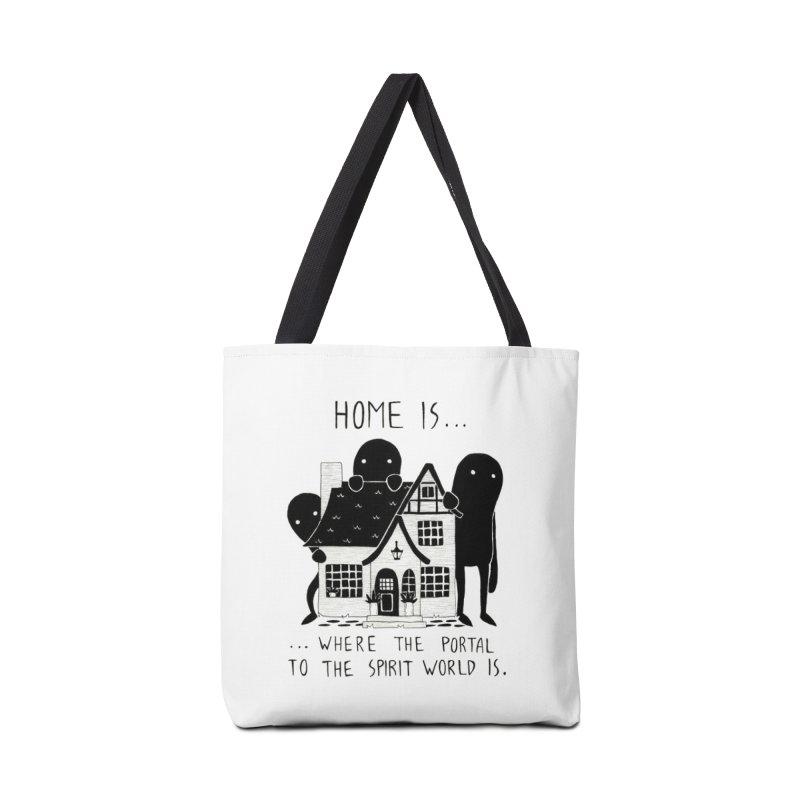 Home Accessories Bag by Behemot's doodles