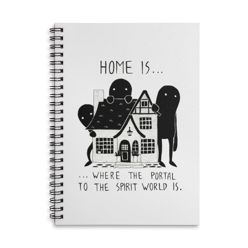 Home Accessories Notebook by Behemot's doodles