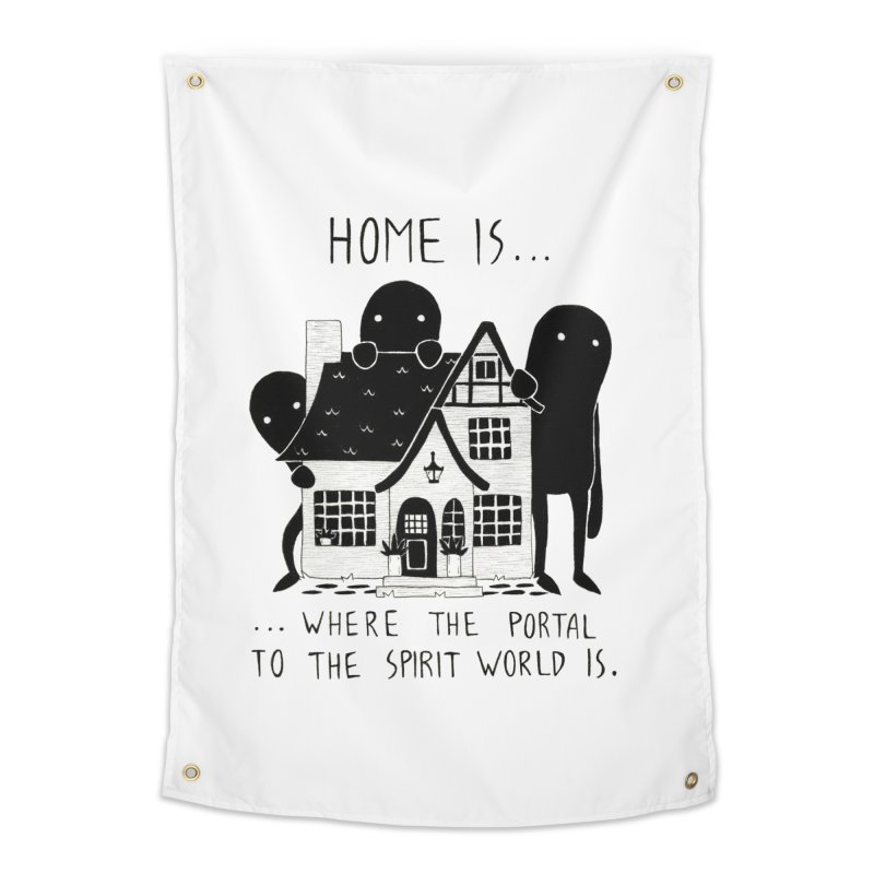 Home Home Tapestry by Behemot's doodles