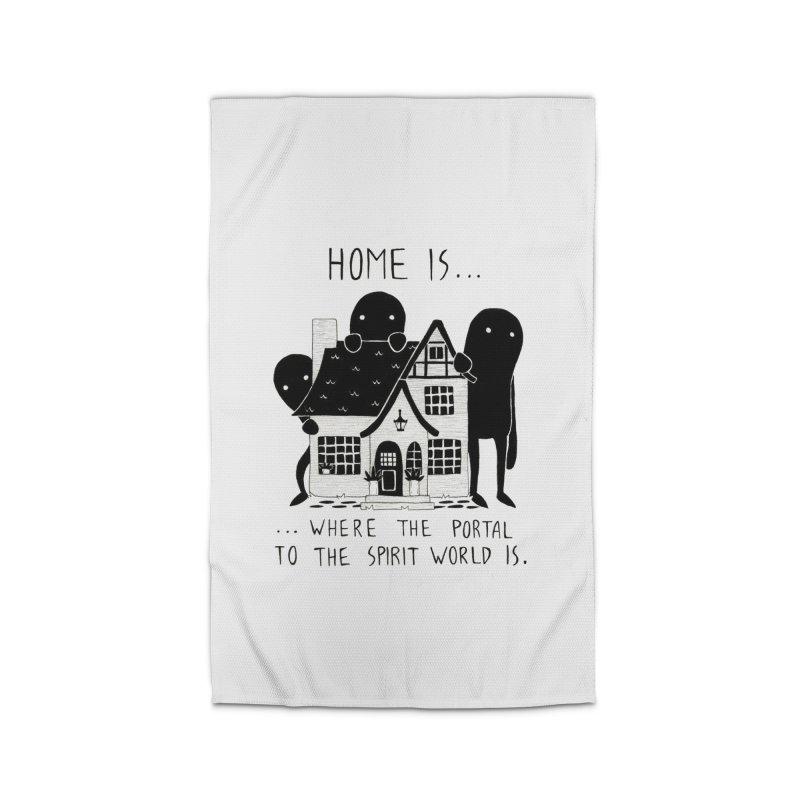 Home Home Rug by Behemot's doodles