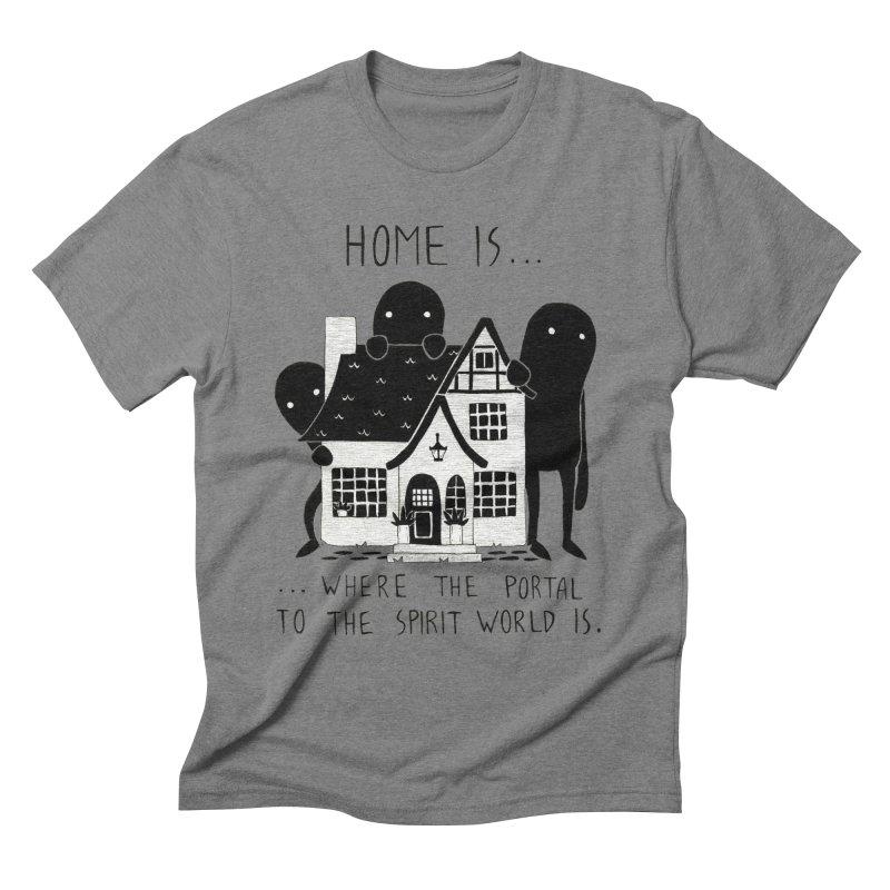 Home Men's T-Shirt by Behemot's doodles