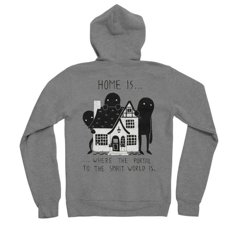 Home Women's Zip-Up Hoody by Behemot's doodles