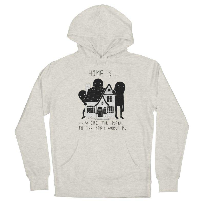 Home Men's Pullover Hoody by Behemot's doodles